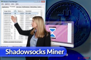 Shadowsocks Miner