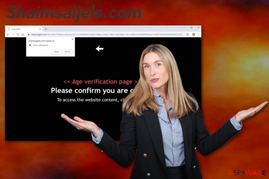 Shaimsaijels.com virus