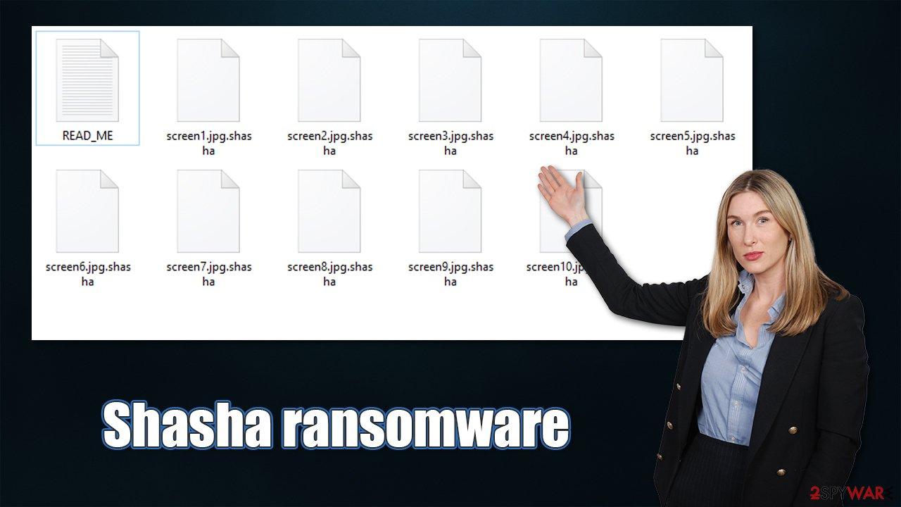 Shasha ransomware virus