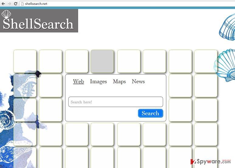 ShellSearch.net hijack
