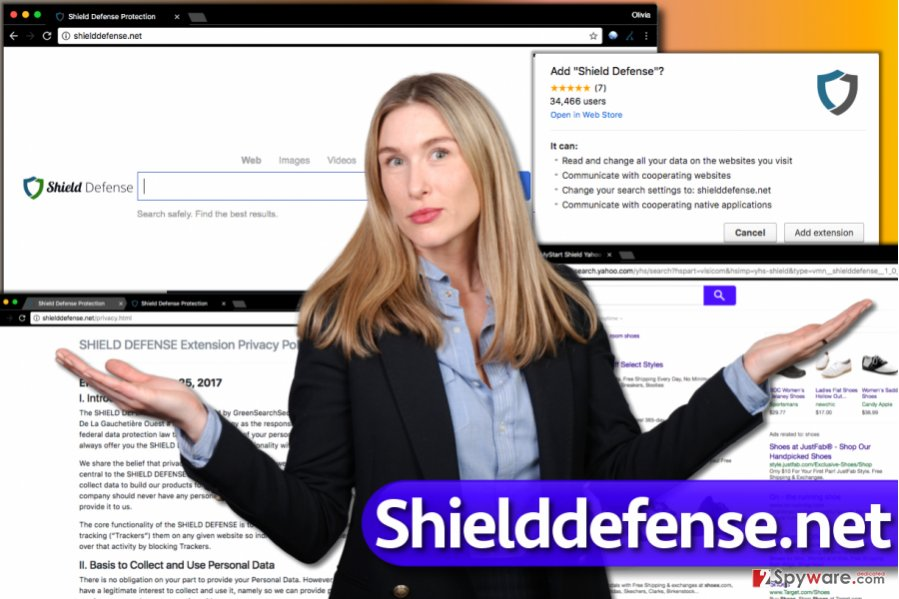 Shielddefense.net virus