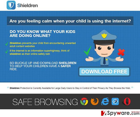 Shieldren Ads snapshot