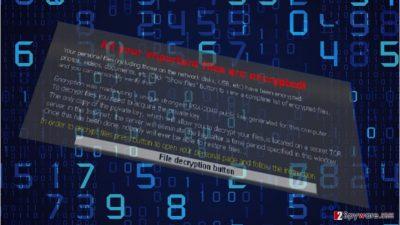 The picture revealing Shigo ransomware