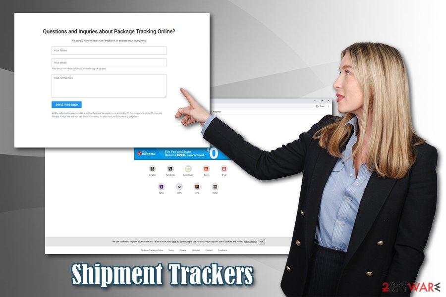 Shipment Trackers virus