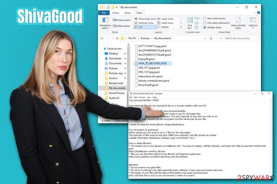 ShivaGood ransomware virus