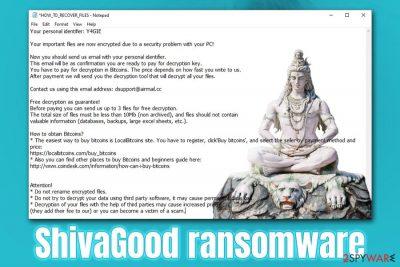 ShivaGood ransomware