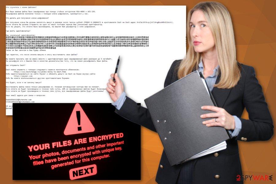 ShkolotaCrypt virus