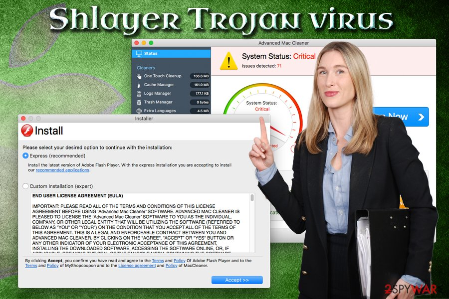 Shlayer Trojan malware