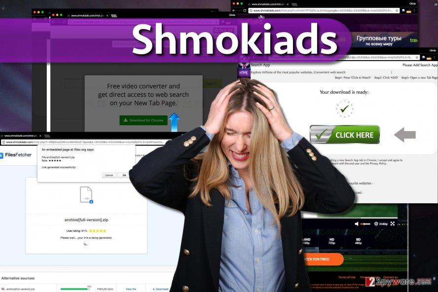 Shmokiads malware