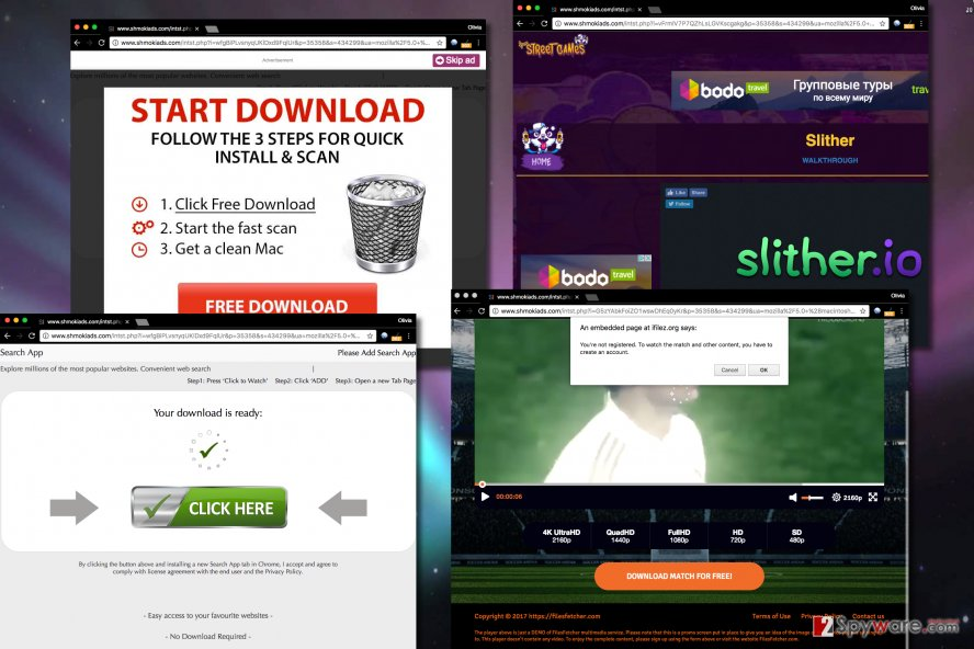 Ads by Shmokiads virus are extremely annoying