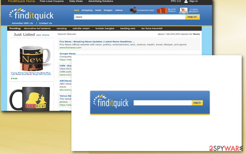 The picture displaying shop-finditquick.com