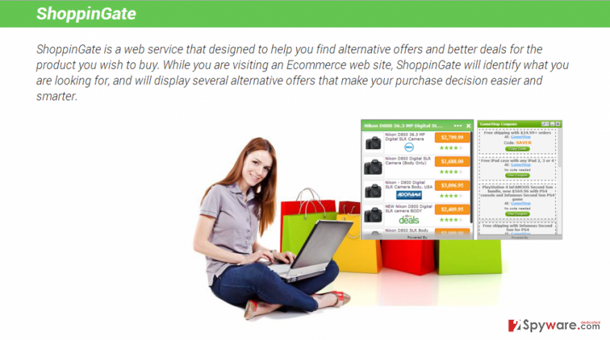 ShoppinGate virus snapshot