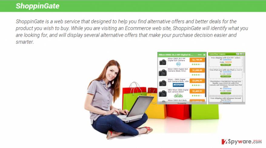 ShoppinGate virus snapshot