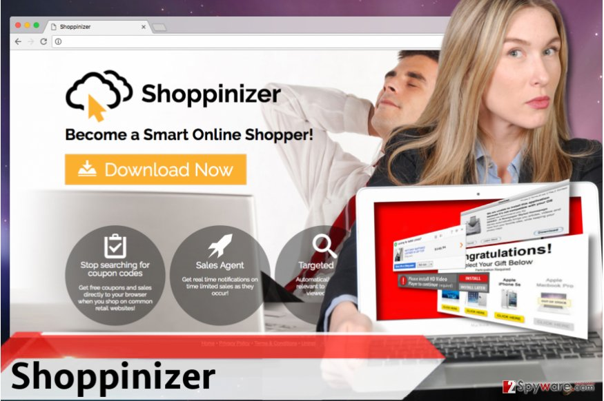 Shoppinizer adware
