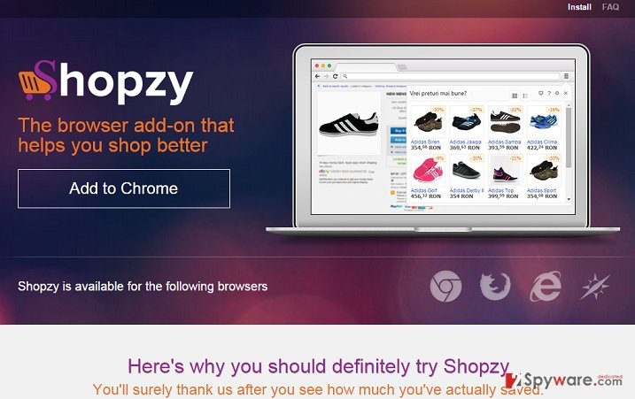 ShopzyApp virus