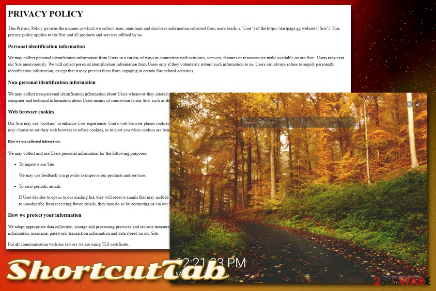 ShortcutTab Privacy Policy