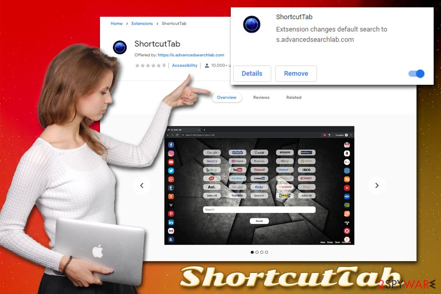 ShortcutTab hijack