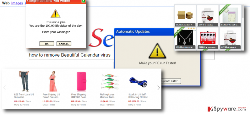 Beautiful Calendar malware hijacks web browsers and shows targeted ads