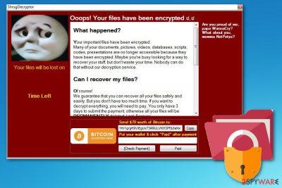 Shrug2 ransomware virus