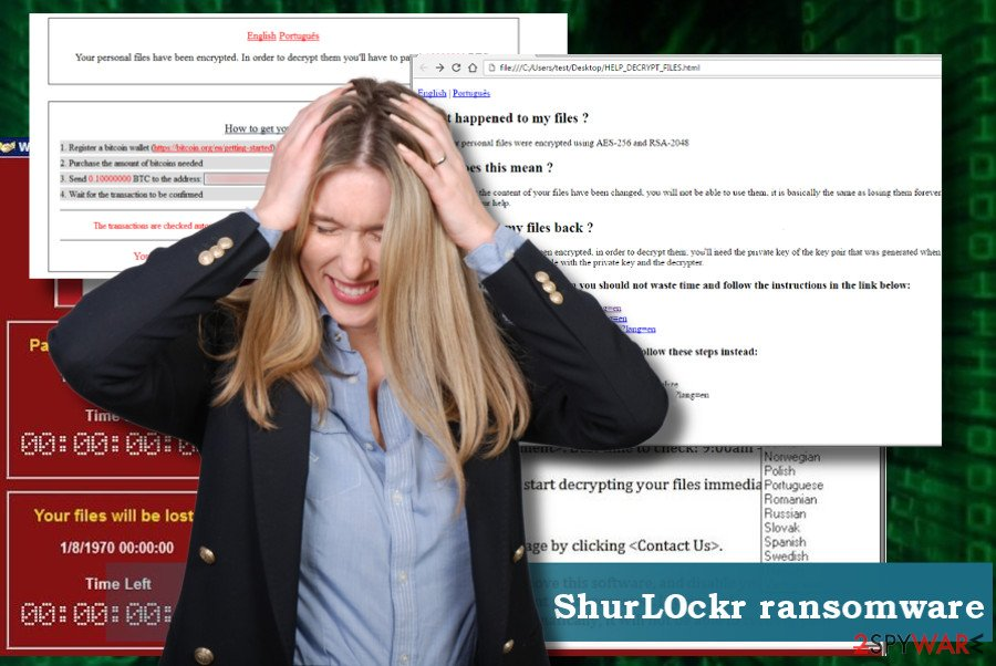 ShurL0ckr virus removal guide
