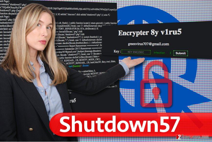 Shutdown57 virus
