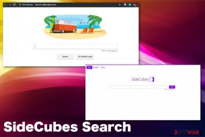 SideCubes Searchvirus