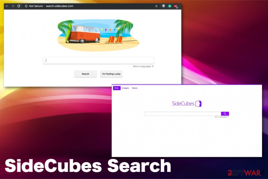 SideCubes Search virus