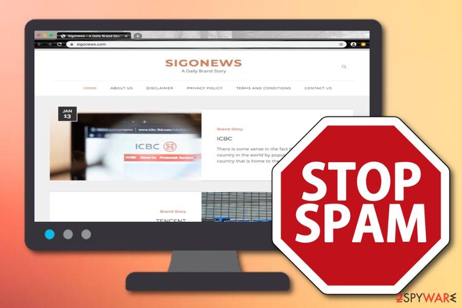 Sigonews adware
