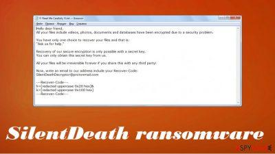 SilentDeath ransomware