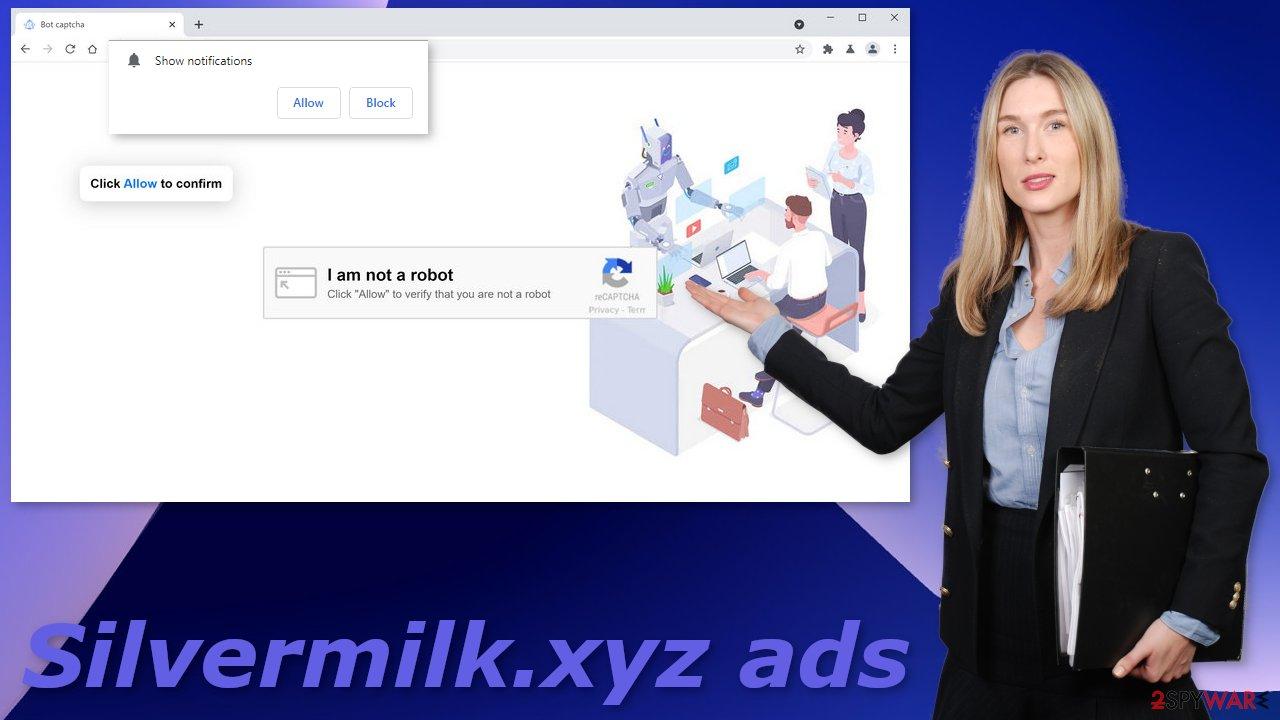Silvermilk.xyz ads