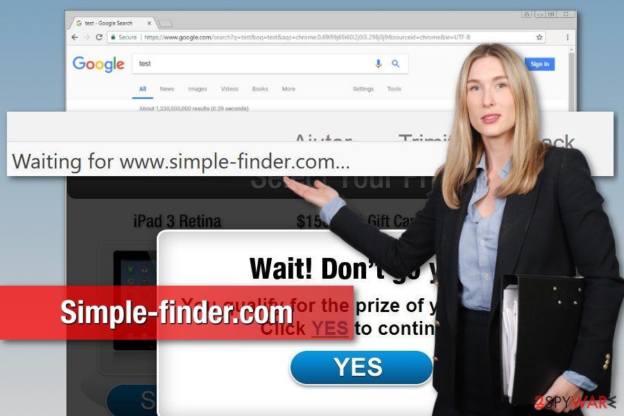 Simple-finder.com virus illustration