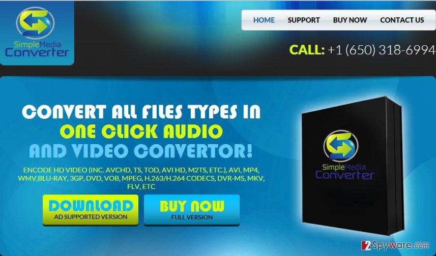 SimpleMediaConverter ads