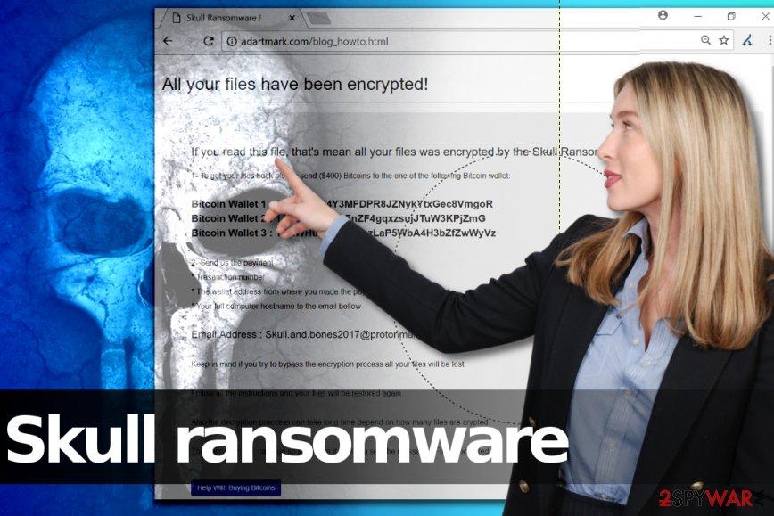 Skull ransomware virus