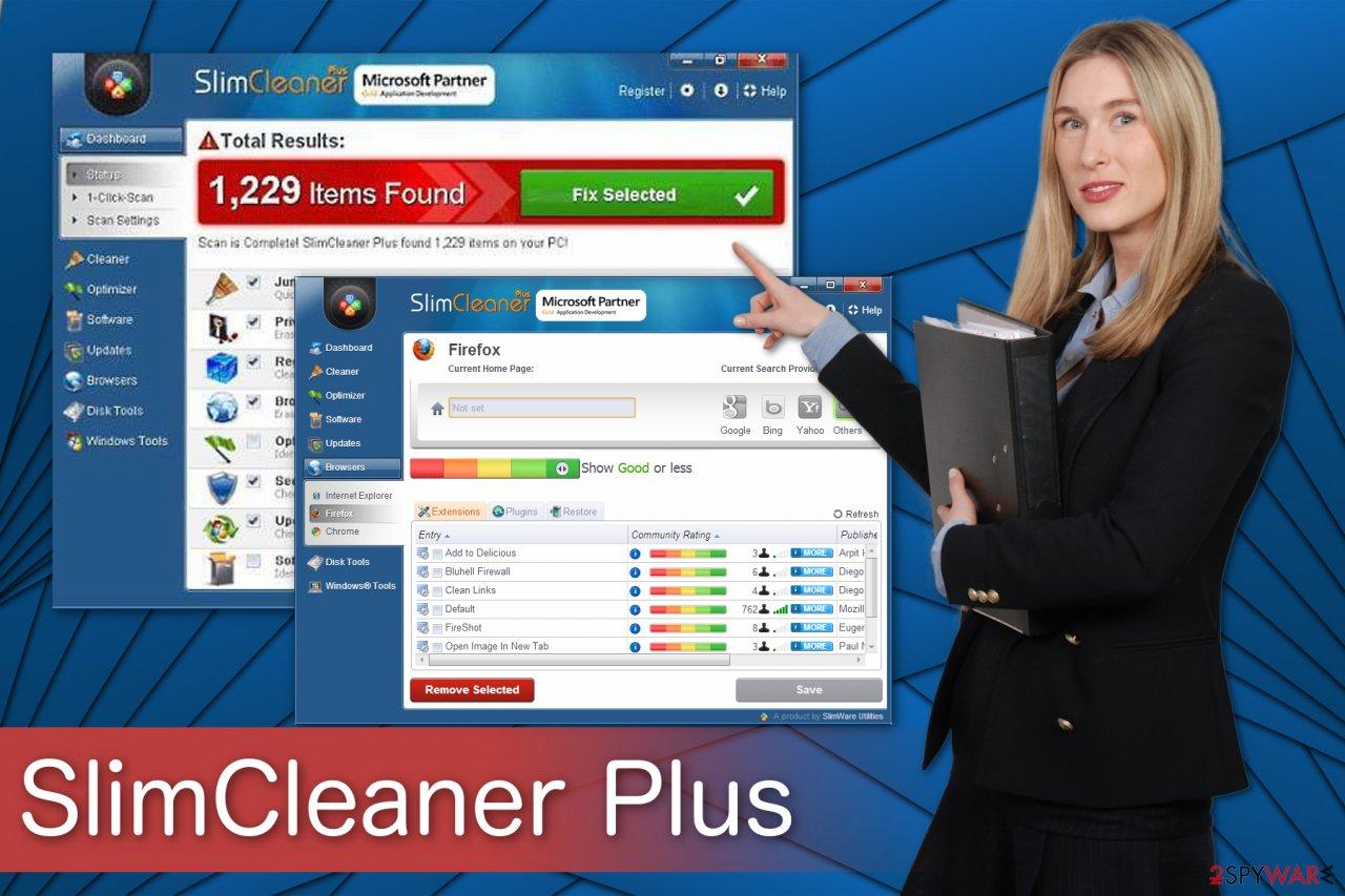 SlimCleaner Plus tool