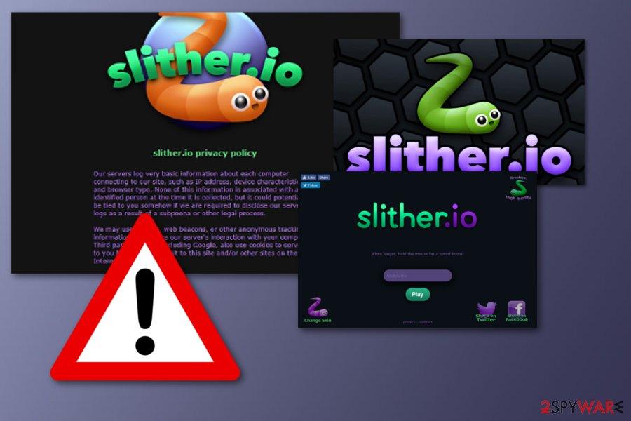 Sliher.io unwanted app