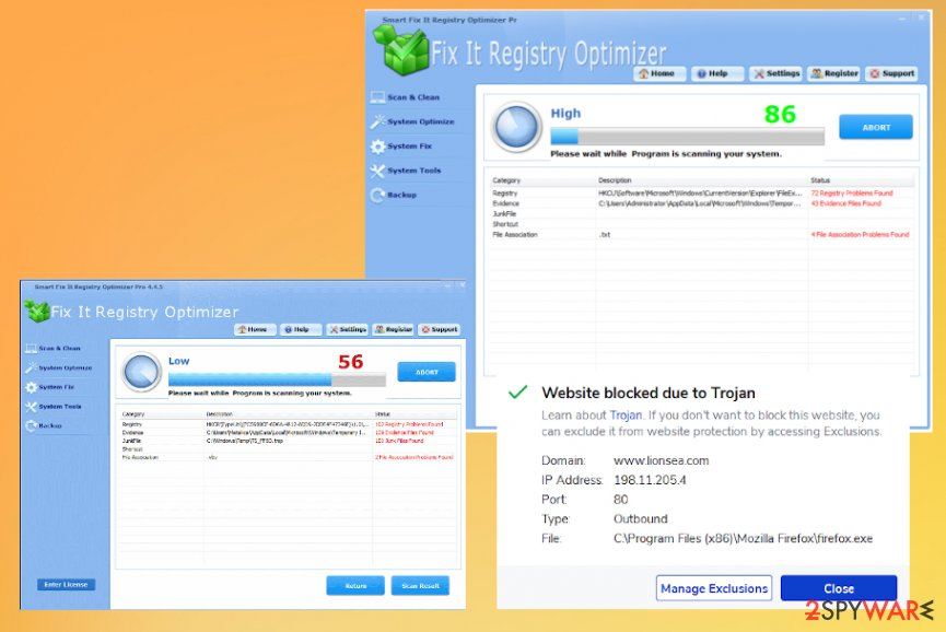 Smart Fix It Registry Optimizer tool