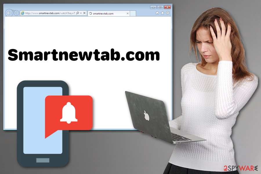 Smartnewtab.com virus