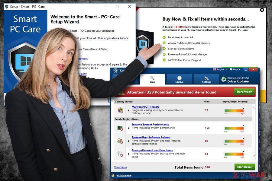 Smart PC Care PUP