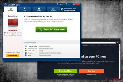 Smart PC Care virus