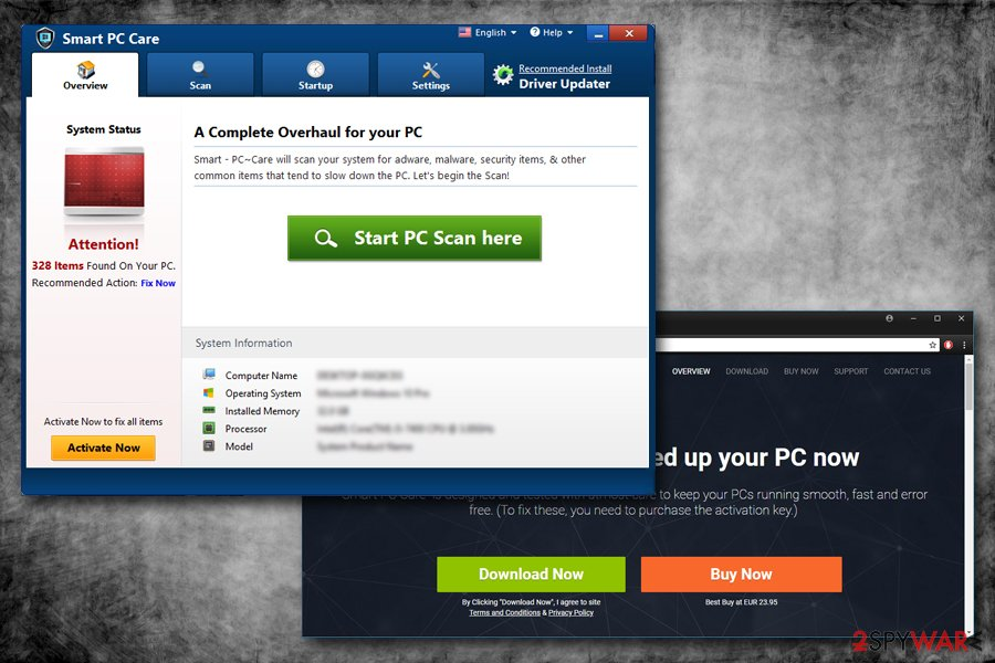 Smart PC Care virus