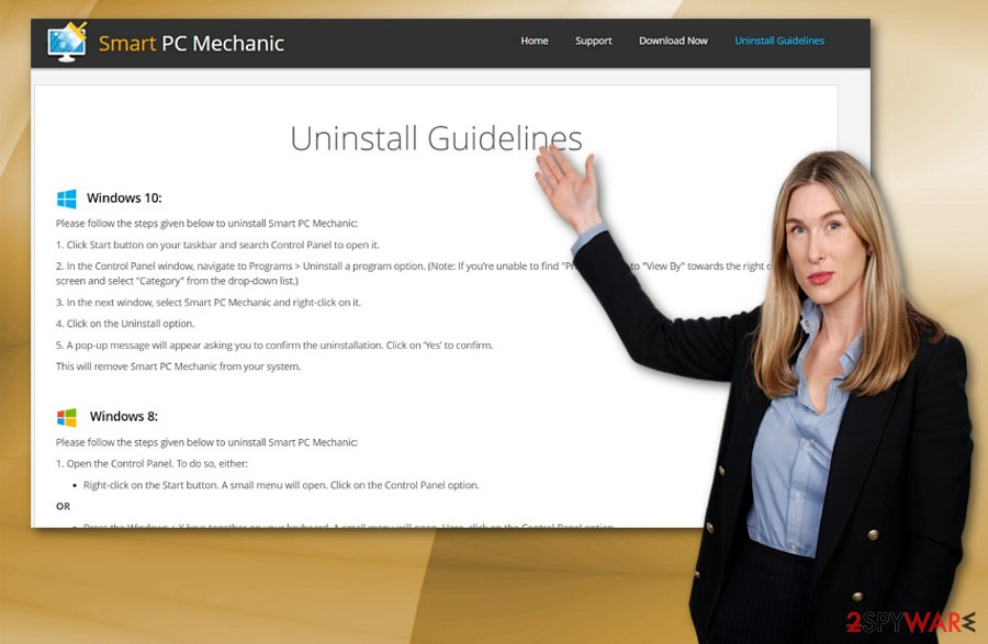 Smart PC Mechanic uninstall guide