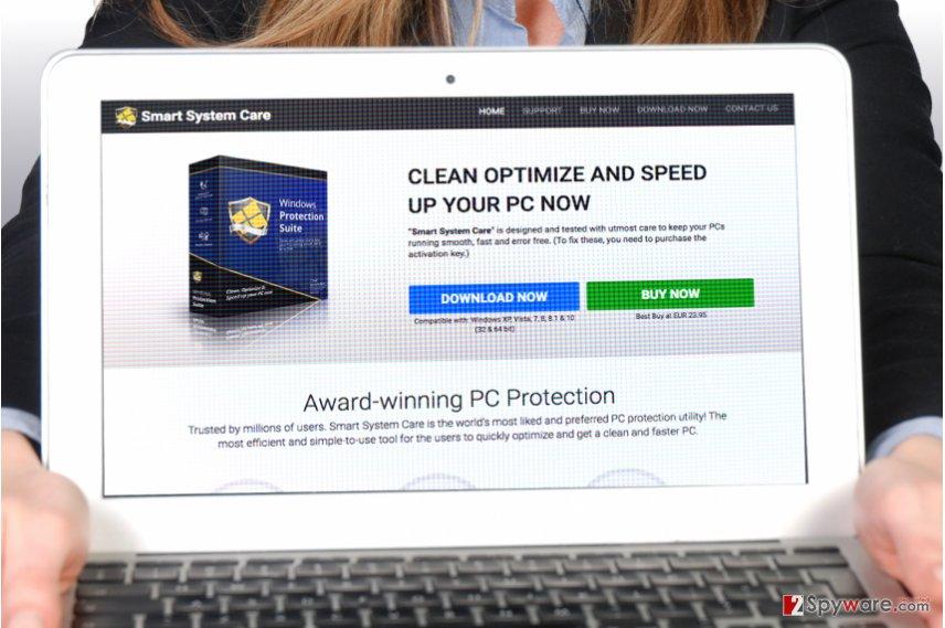 Smart System Care screenshot