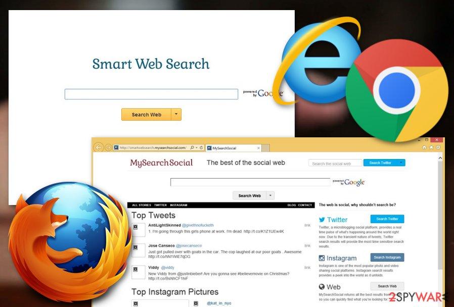 SmartWebSearch virus