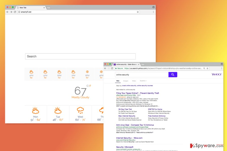 Screenshot of Smartyfi.net