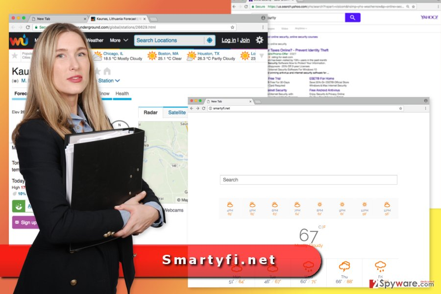 The image of Smartyfi.net virus