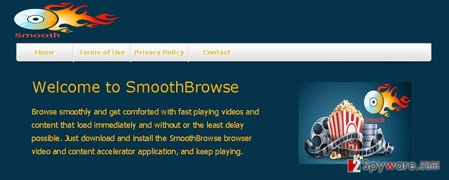 SmoothBrowse ads snapshot