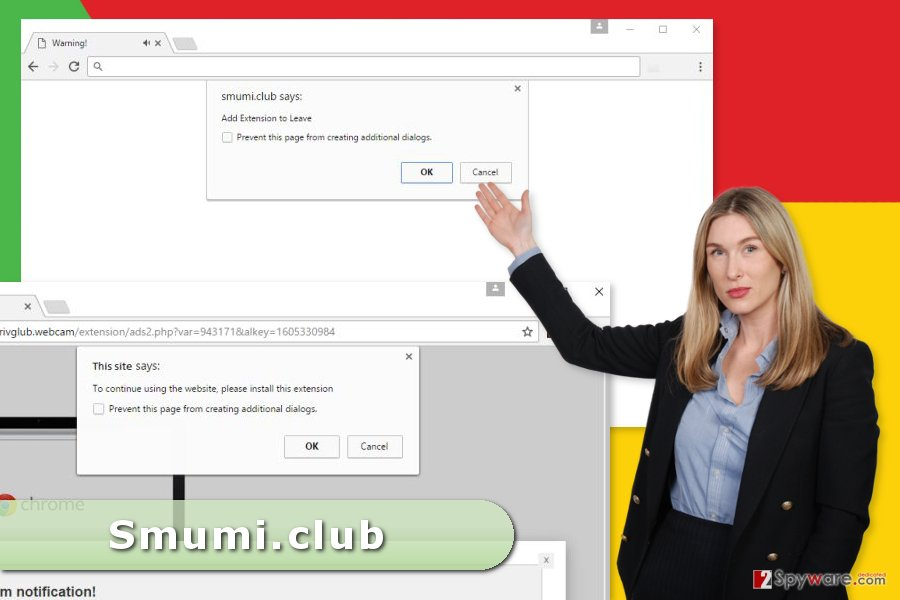The image of Smumi.club ads