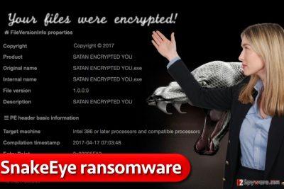 SnakeEye ransomware virus