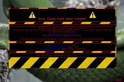 SnakeLocker virus