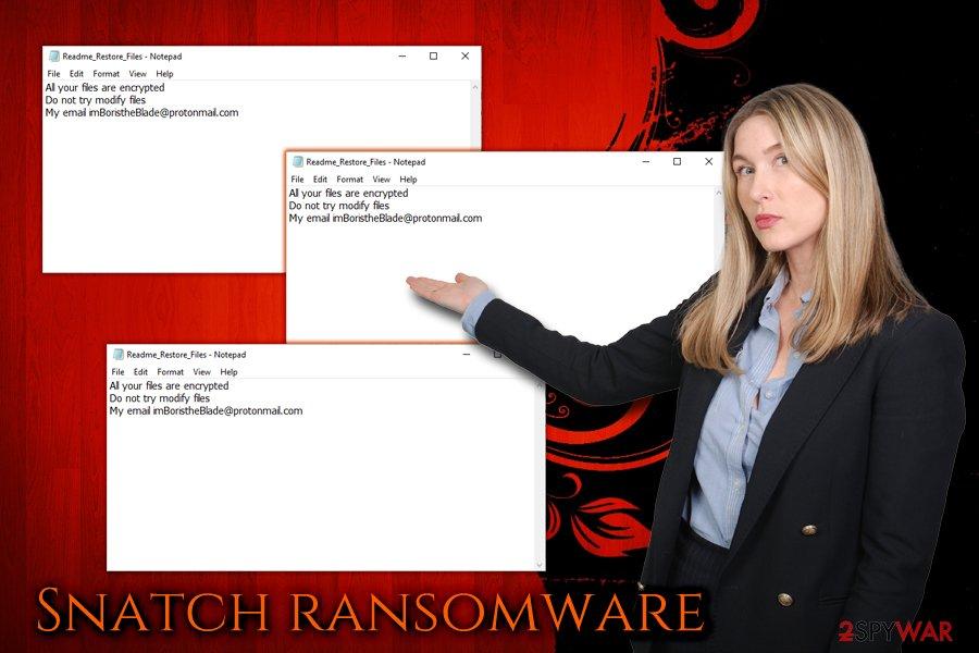 Snatch ransomware virus